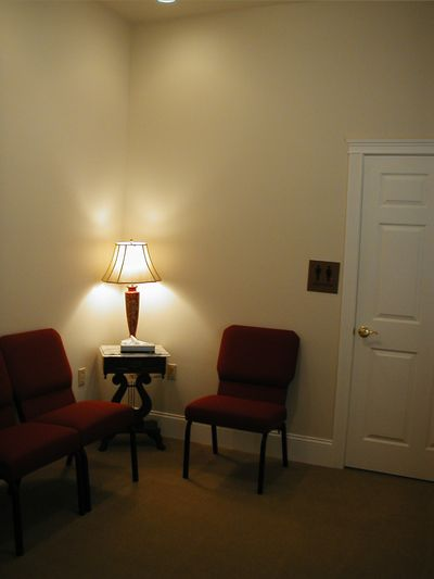 Minister's Private Reflection Room