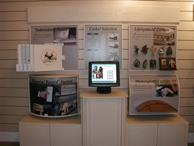 Casket and Urn Selection Touch Screen Program