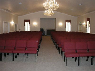 Large Seating Capacity Chapel