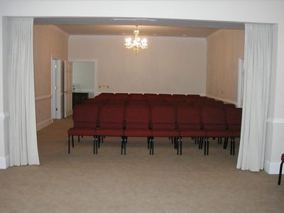 Private Family Room attached to Chapel